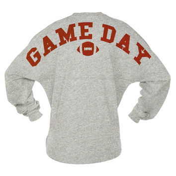 Game Day Football Textured Jersey