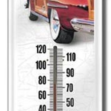 Rt 66 Woody Thermometer