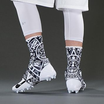 Aztec Black Spats / Cleat Covers