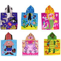 2017 Kids Hooded Beach Towel