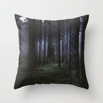 How deep will you go Throw Pillow by HappyMelvin