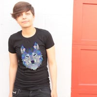 Polygon Wolf T-shirt