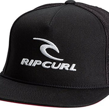 Rip Curl Men's Team Trucker Hat, Black, One Size