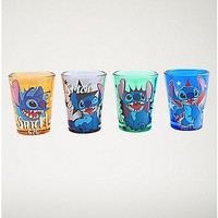 Lilo & Stitch Disney Mini Glass Set - 4 Pack 1.5 oz - Spencer's