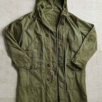 Vintage Green Military Parka- Assorted One