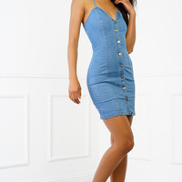 Callandra Denim Dress