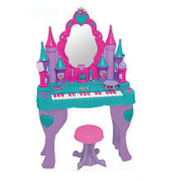 Disney Princess Ariel Keyboard Vanity