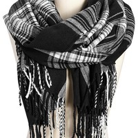 Women's Plaid Flannel Scarves