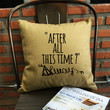 """Harry Potter """"After All This Time? Always"""" Pillow Cover always throw pillow cover severus snape cotton canvas pillow cover"""
