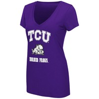 Colosseum TCU Horned Frogs Tee - Women's