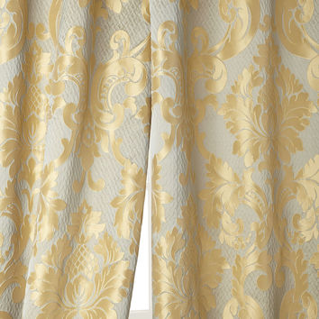 """Two 52""""W x 96""""L Contessa Curtains - Sherry Kline Home Collection"""