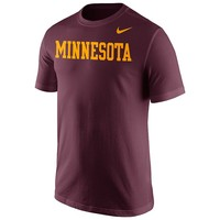 Nike Minnesota Golden Gophers Wordmark Tee