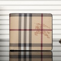 Burberry Men Leather Purse Wallet-3