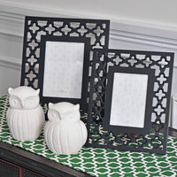 Geometric 4x6 Picture Frame