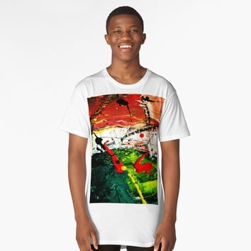 'Hypnotzd Abstract 102' Long T-Shirt by hypnotzd