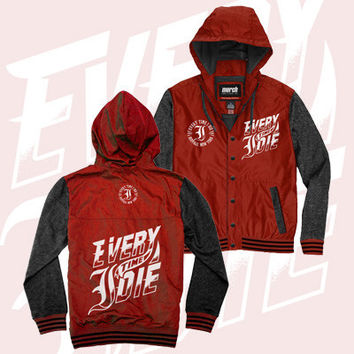 Every Time I Die - Tag Windbreaker (Red)