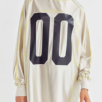 BDG Krista Oversized Metallic Jersey | Urban Outfitters