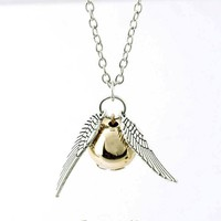Harry Potter Quidditch Snitch Necklace