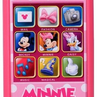 Disney Toontown Minnie Mouse slide touch smartphone (japan import)