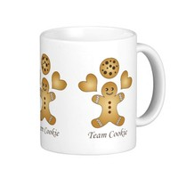 Cute Coffee / Milk Cups: Kawaii Mug Gift for Kids: Team Cookie: More Styles Available!