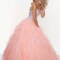 Mori Lee Prom Dress 2014 93085SP at Peaches Boutique