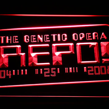 Repo The Genetic Opera LED Neon Sign Home Man Cave G186