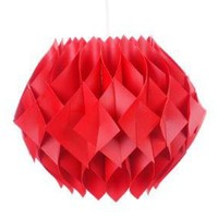 Cool Molded Plastic Pendant Lamp