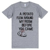 Athletic Grey T-Shirt | Funny Meme Shirts