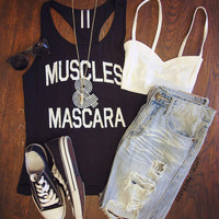 Muscles And Mascara Top