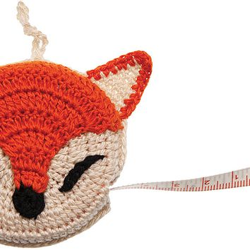 "Paradise Crocheted Tape Measure 60""-Fox"