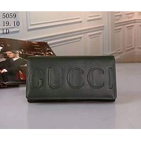 GUCCI beautiful lady wallet F-LLBPFSH Green
