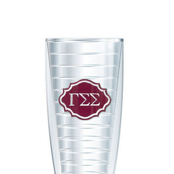 Gamma Sigma Sigma Tumbler -- Customize with your monogram or name!