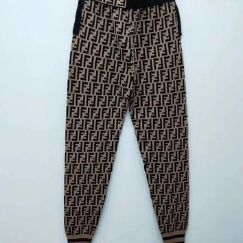 FENDI FF Knit Women Pants
