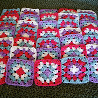 Make Your Own Granny Square Blanket by LuckyNumberEight on Etsy