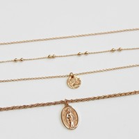 Miraculous Medal Necklace Set