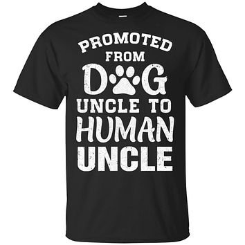 Promoted From Dog Uncle To Human Uncle Gifts
