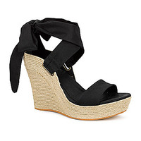 UGG® Australia Jules Espadrille Wedge Sandals - Black