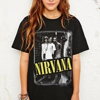 Nirvana '90s Photo Tee at Urban Outfitters