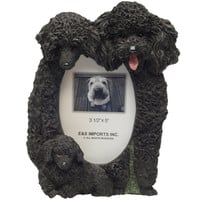 Poodle Family Large Picture Frame