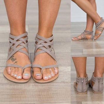 Casual Rome Style Sandal