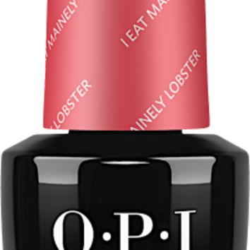 OPI GelColor- I Eat Mainely Lobster 0.5 oz - #GCT30 (Original Bottle Design)