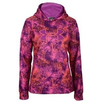 Under Armour Armour Storm Printed Big Logo Hoodie - Girls' Grade School
