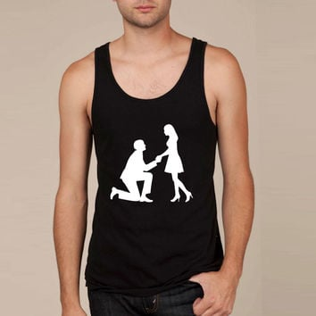 Wedding proposal Tank Top