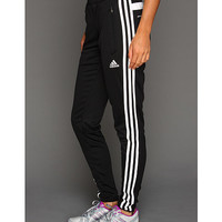 adidas Tiro 13 Training Pant Black/White - Zappos.com Free Shipping BOTH Ways