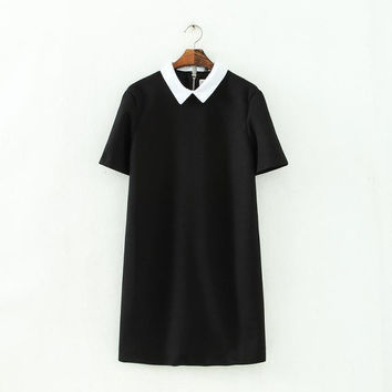 Winter Short Sleeve Dress [4917879684]