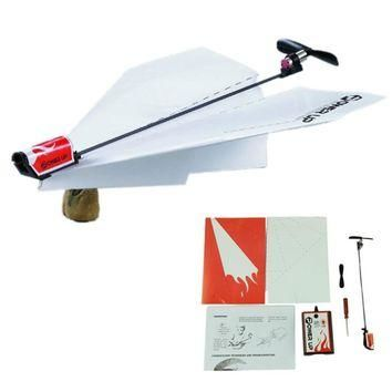 Power up electric paper plane airplane conversion kit fashion educational toys childre