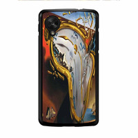 Salvador Dali Soft Watch Melting Clock Nexus 5 Case