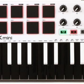 Akai MPK Mini Mk2 Limited Edition White