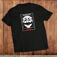 Mr ROBOT, FSociety T-Shirt, TV Show, computer Hacking, Various colours, Annonymous, Evil Corp