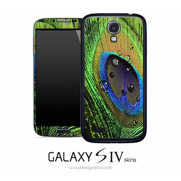 Peacock Skin for the Galaxy S4